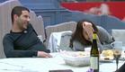 צוחקים אחרי האוכל (צילום: האח הגדול 24/7)