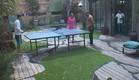 פינג פונג בחצר (צילום: האח הגדול 24/7)