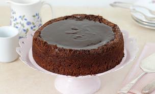 עוגת שוקולד ושקדים ללא גלוטן (צילום: נטלי לוין ,אוכל טוב)