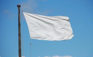 דגל לבן  (צילום: getty images ,getty images)