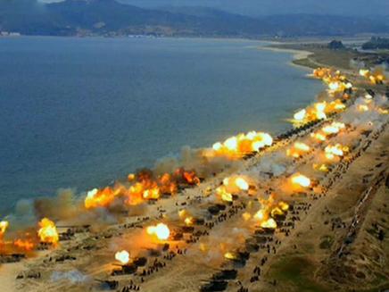 תרגיל צבאי צפון קוריאה