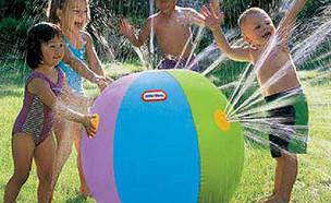 קיץ10, משחקי מים בבריכה או בחצר (צילום: zipy.co.il)