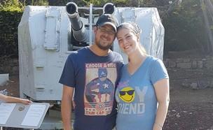 """אלעד סלומון הי""""ד ואשתו תבדל""""א (צילום: מתוך פייסבוק ,mako יהדות)"""