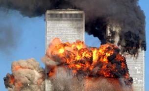 פיגוע מגדלי התאומים (צילום: Spencer Platt, getty images)