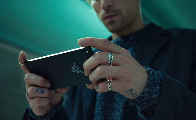 Razer Phone (צילום: יחסי ציבור)