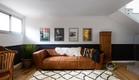 בית בהרצליה, עיצוב אורית דרום, חדר הקרנה (17) (צילום: שירן כרמל)