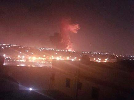 הפיצוץ בשדה התעופה בקהיר