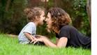 הדר לוי ובנה הקטן (צילום: אפרת אשל, צילום פרטי)