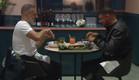 סמי ודודו בארוחת ערב אצל אביב משה (צילום: מתוך