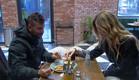 מיכאל ונטע אוכלים יחד (צילום: מתוך