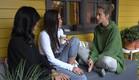 נטע, מנואל ולימור בשיחת בנות (צילום: מתוך