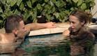 דומיניק ורומי בבריכה (צילום: מתוך