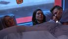 מנואל, שרי ודומיניק במיטה (צילום: מתוך