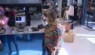 אודטה בחנות בגדים (צילום: מתוך