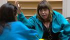 אודטה והודיה מדברות (צילום: מתוך