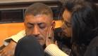 לימור מנגבת לדודו את הדמעות (צילום: מתוך