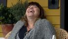 אודטה צוחקת (צילום: מתוך