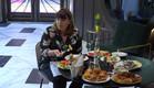 אודטה בארוחת בוקר מפנקת (צילום: מתוך