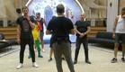 התושבים לומדים לרקוד (צילום: מתוך