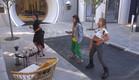 הודיה, סיגל ואליסה מתאמנות על צעדי הריקוד (צילום: מתוך