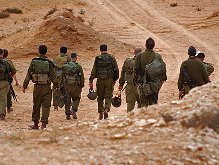 חיילי מילואים (צילום: באדיבות גרעיני החיילים)