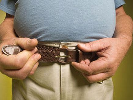 מה הכרס שלך, גבר? (צילום: jupiter images)