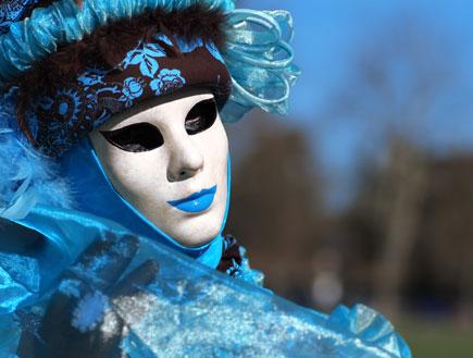הקרנבל בוונציה (צילום: Shutterstock)