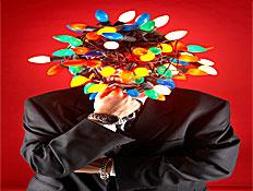 ראש מנורות צבעוניות