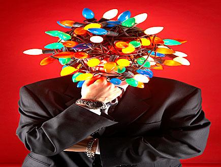 ראש מנורות צבעוניות (צילום: tomasdipagio, Istock)