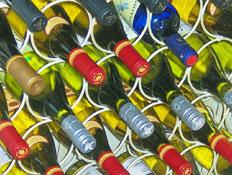מלא יינות שוכבים
