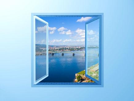 חלון פתוח (צילום: stock_xchng)