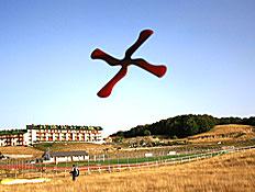 בומרנג באוויר (צילום: flickr)