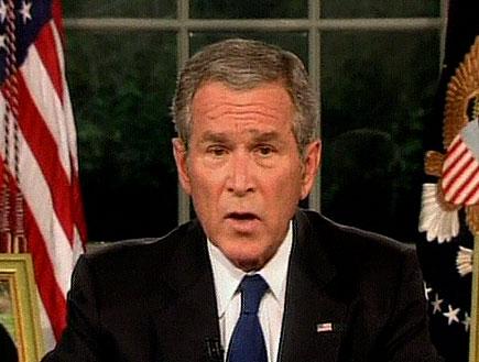 """נשיא ארה""""ב ג'ורג' בוש (וידאו WMV: mako)"""