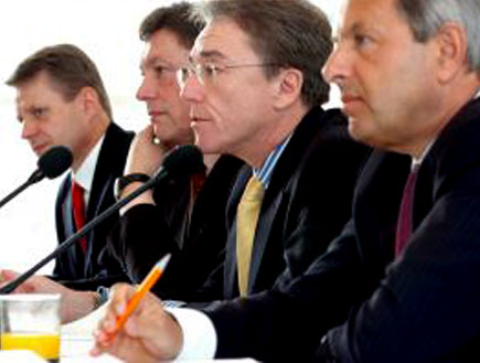 ארבעה בוסים בישיבה