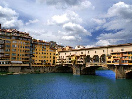 גשר פונטו וקיו בפירנצה (צילום: Shutterstock)