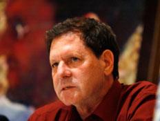 שלמה גולדווסר, אביו של החיילה החטוף אהוד גולדווסר (צילום: רויטרס, רויטרס1)