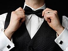 חתן מסדר עניבת פרפר