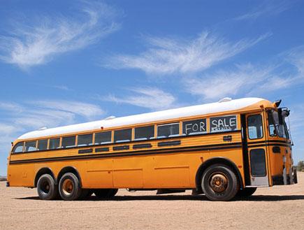 אוטובוס צהוב (צילום: SXC)
