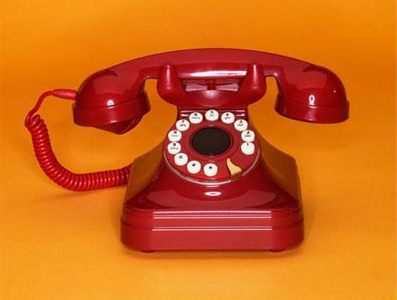 טלפון חוגה אדום (צילום: SXC)