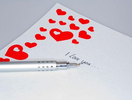 נייר מכתבים (צילום: jupiter images)