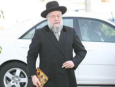 הרב ישראל לאו (צילום: עודד קרני)