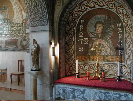 אטרקציות במרכז: מנזר בית ג'ימאל (צילום: איל שפירא)