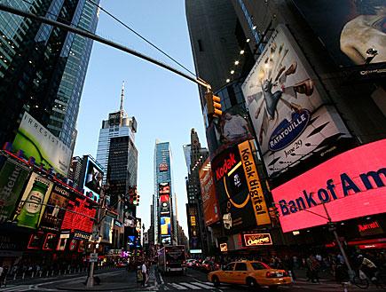 טיימס סקוואר בניו יורק (צילום: רויטרס, רויטרס1)