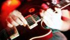 מוזיקה בדבלין-מבט של ידיים מנגנות בגיטרה (צילום: SXC, SXC1)