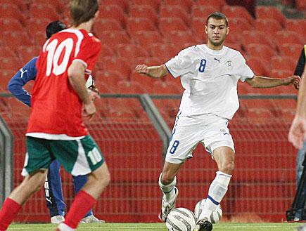 אבירם ברוכיאן במשחק נבחרת (צילום: עודד קרני, מערכת מאקו 1)