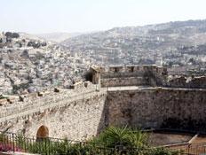 חומות ירושלים (צילום: עודד קרני)