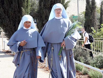 נזירות בירושלים (צילום: עודד קרני)