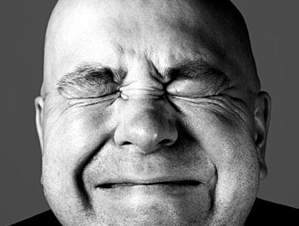 גבר מתאמץ (צילום: Niilo Tippler, Istock)