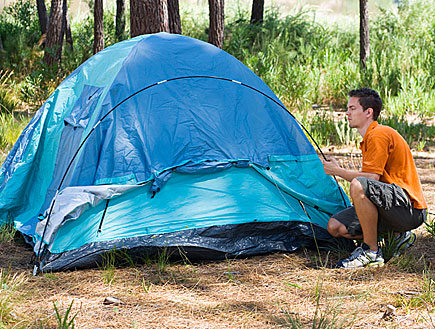 אוהל (צילום: jupiter images)