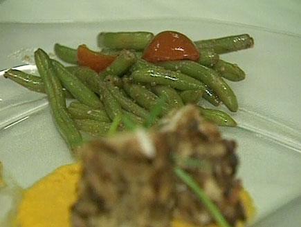 ארוחת גורמה (תמונת AVI: אור גץ, חדשות1 ערוץ 2)